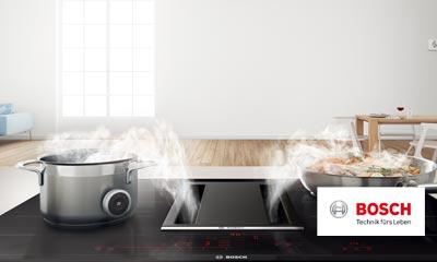 Dunstabzug Küche | Bosch Kochfeld Mit Integriertem Dunstabzug Kuche Kaufen Erndl